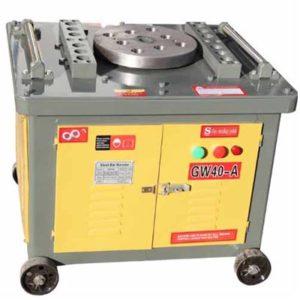 GW40 manual tmt bar bender machine
