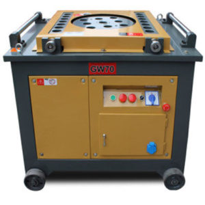 GW70 automatic rebar rod bending machine