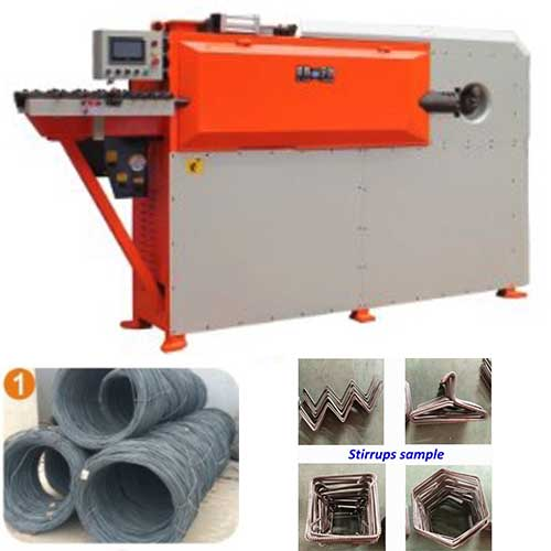 HGTW-10 CNC wire bending machine