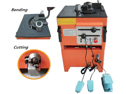 RBC32 rebar bender and cutter